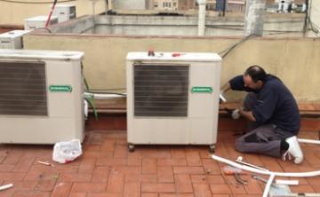 Instal·lació de compressors per a climatització