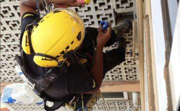 Reparació de fuita de gas en montant general